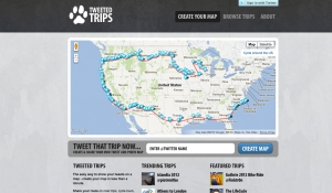 Tweeted Trips: Your Tweets on a Map