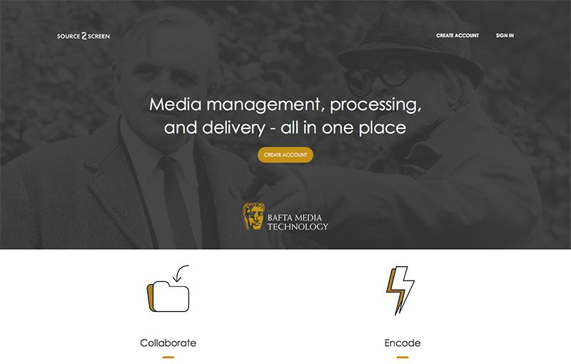 Video storage and encoding for Bafta