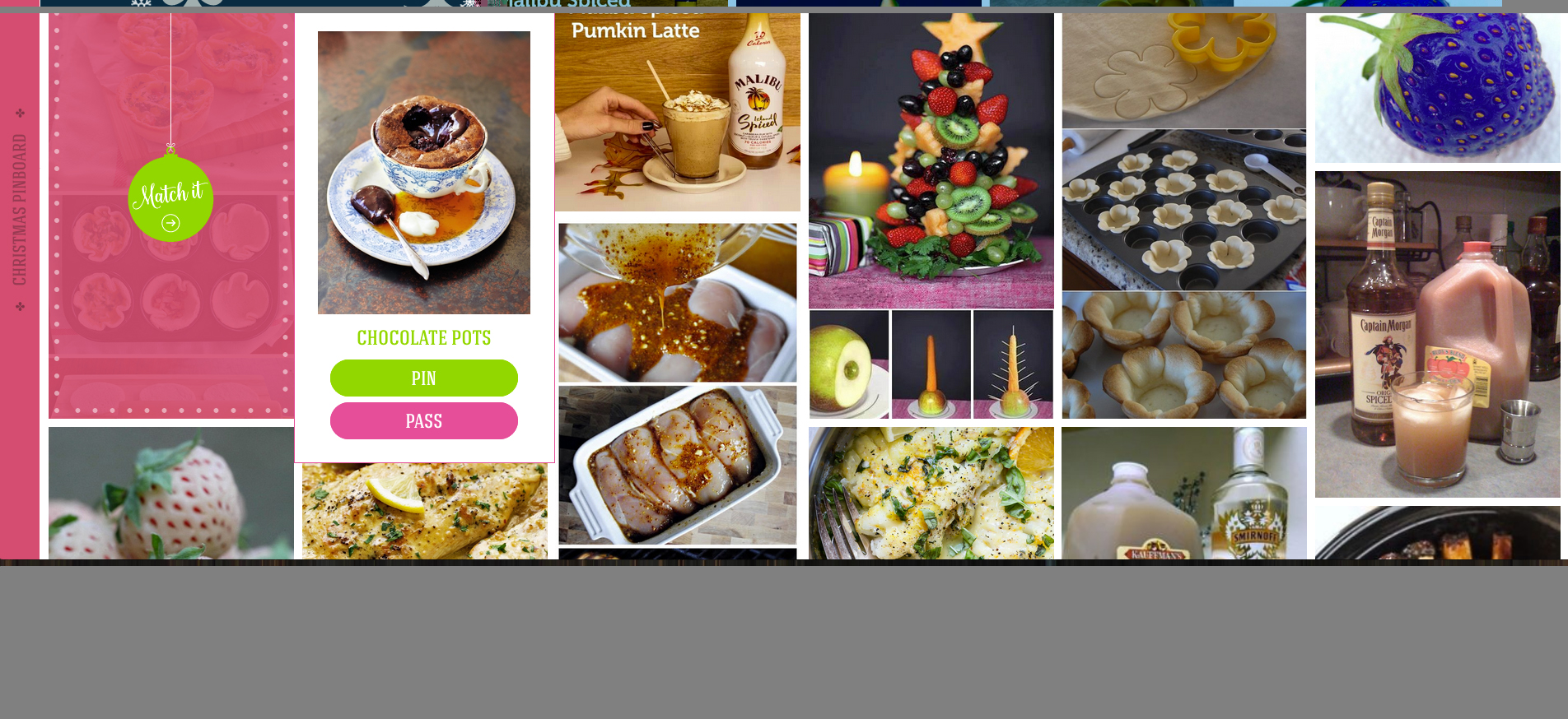Your Pinterest pins are matched to recipes